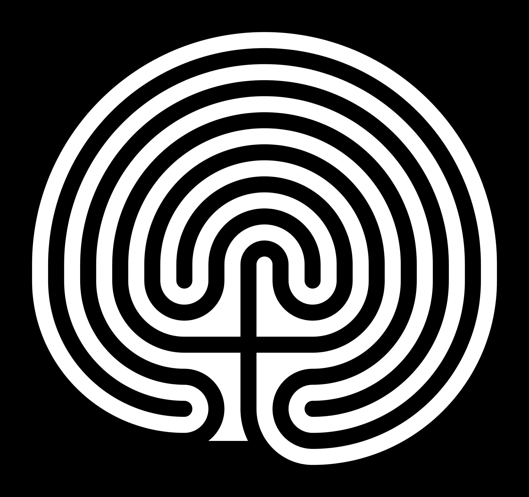 Cretan Labyrinth Round_svg